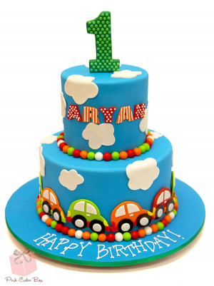 Aryan's First Birthday Cake (2383)