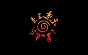 naruto cursed seal mark hd wallpaper