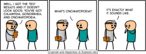 onomatopoeia. :)