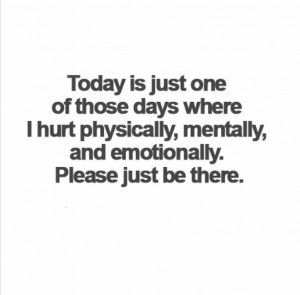 Today Is Just One of Those Days
