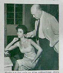 Otto Preminger and Dorothy Dandridge
