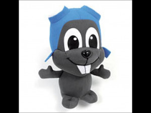 Rocky and Bullwinkle Rocky J. Squirrel Plush