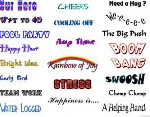 clip art sayings