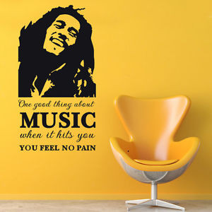 BOB-MARLEY-QUOTE-ONE-GOOD-THING-ABOUT-MUSIC-FEEL-NO-PAIN-VINYL-DECAL ...
