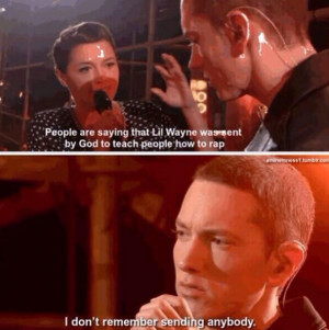 eminem is god