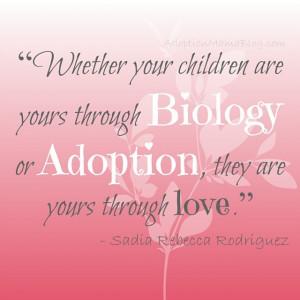 Loving Life, God, Family & Adoption