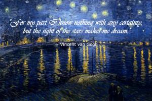 11/13 – Van Gogh