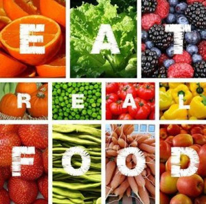Reminder: EAT REAL FOOD! Dump the processed foods and focus on ...