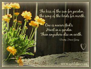 Nearer God's Heart In a Garden