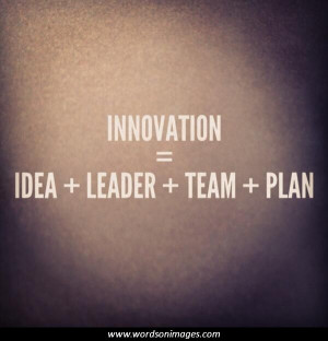 Quotes innovation