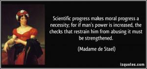 More Madame de Stael Quotes
