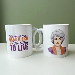 Bea Arthur Quotes Mug