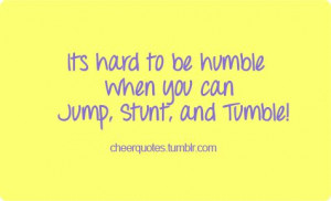 humble heart quotes | Cheerleading Quotes | We Heart It
