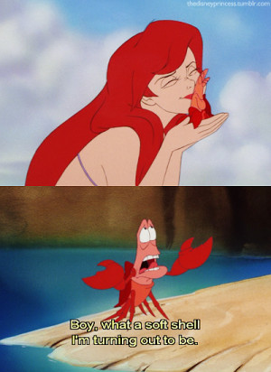 ... disney ariel the little mermaid quote princess screencaps disney
