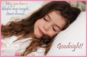 good night WALLPAPERS cute girl