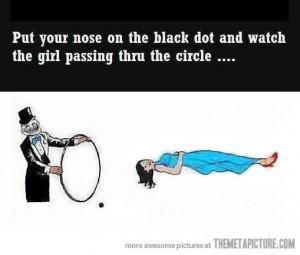 Funny photos funny optical illusion magic woman ring