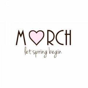 March let spring begin
