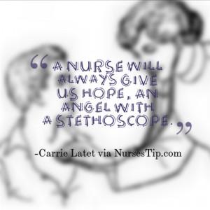 inspiring nursing quotes and sayings