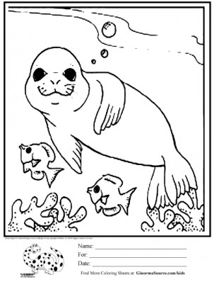 World Oceans Day Coloring Pages