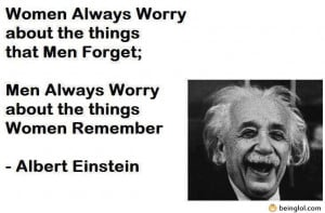 Albert Einstein – Men Vs. Women