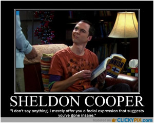 Soft Sheldon, Warn Sheldon, Little friend named Spock, Happy Sheldon ...