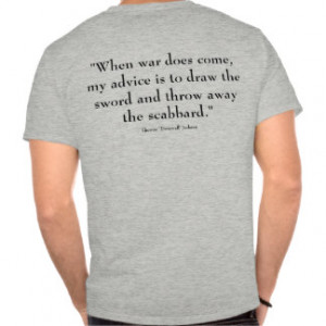 Stonewall Jackson and quote - grey T Shirt