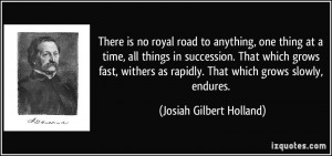 More Josiah Gilbert Holland Quotes