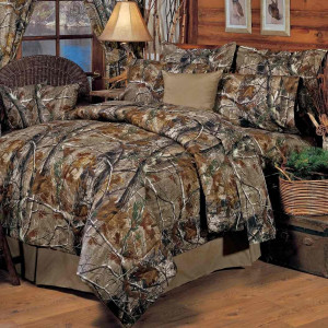 Realtree All Purpose Tree Camouflage Bedding
