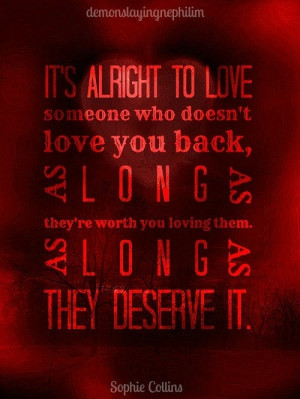 quotes about loving someone who doesnt love you back