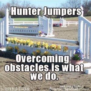 Hunter Jumper Quotes