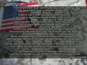 Army Wife Poems Deployment Deployment poem.