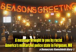 Spiegel quote: In Ferguson: