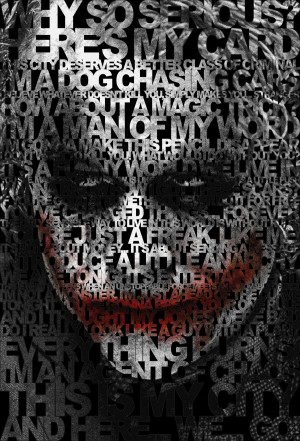 Joker's quotes poster by drMIERZWIAK