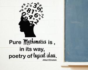 ... teachers, Albert Einstein Quotes, Mathematis Quotes, Teaching gifts