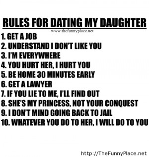 Rules for dating my daughter new funny. Rules for dating my daughter ...