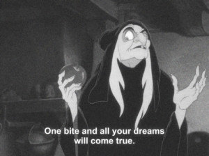 black and white, photography, quote, snow white, text