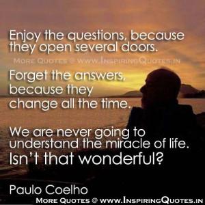 Paulo Coelho Life Quotes Great Life Sayings by Paulo Coelho Images ...