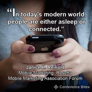 Mobile Marketing Association Forum Quotes