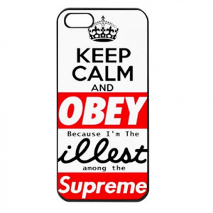 Obey Quotes Supreme Case