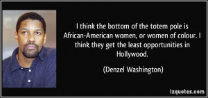 More Denzel Washington Quotes