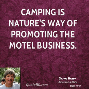 Dave Barry Nature Quotes