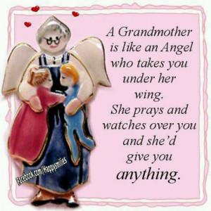 grandmother is like an Angel