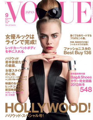 Cara Delevingne photographed by Patrick Demarchelier for Vogue Japan ...