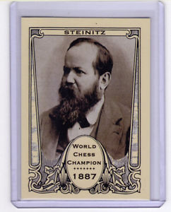 Wilhelm Steinitz first official World Chess Champion 1887