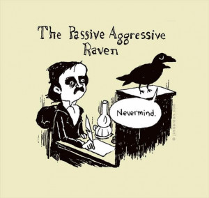 ... cartoonist Jim Benton's alteration of the famous Edgar Allan Poe poem