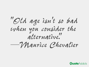 Maurice Chevalier Quotes