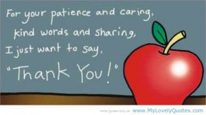 Teacher just want to say thank you quotes for teachers from students