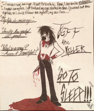 Jeff the Killer by EmbraceNightEternal
