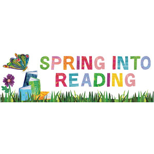 Eric Carle™ Spring Into Reading Bookmarks