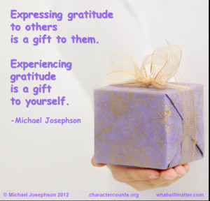 image for QUOTES & POSTERS: Expressing gratitude to others is a gift ...